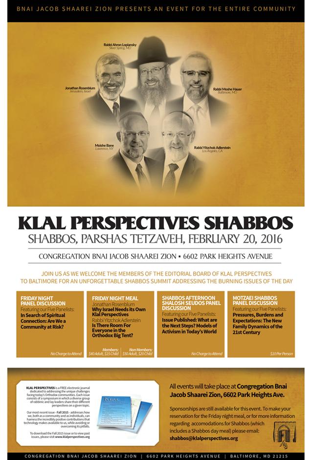 KP Shabbos